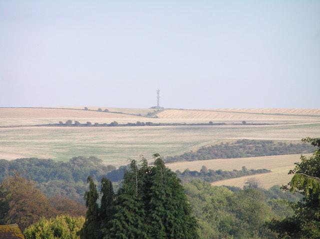 Falmer hill from Coldean