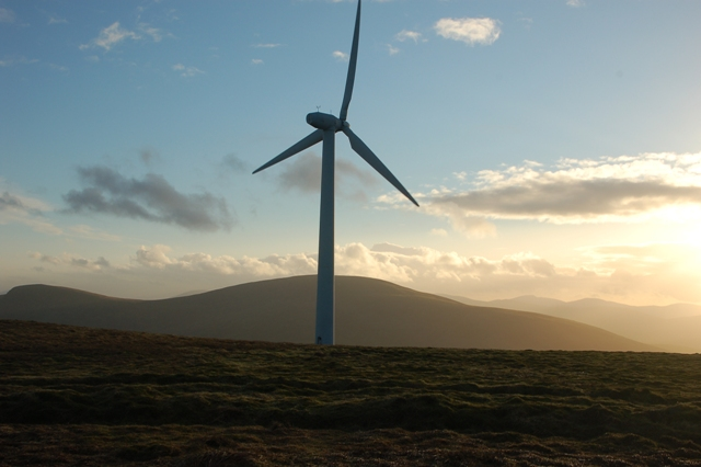 Wind turbine On Windy Standard