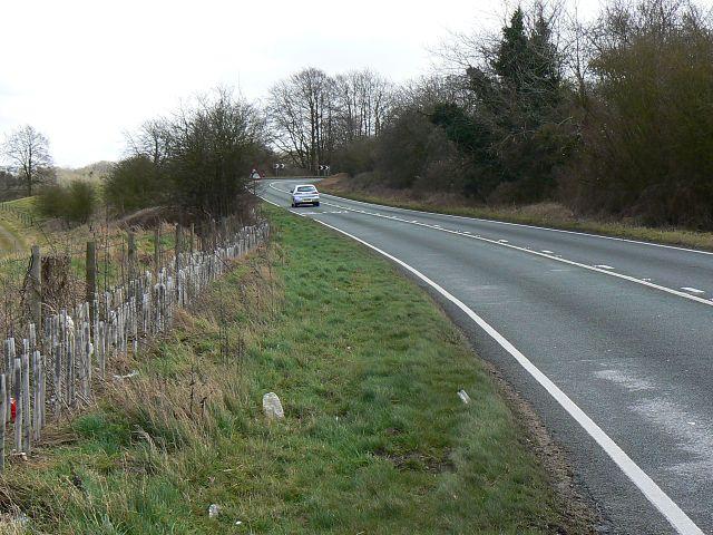 A272 near Chilcomb