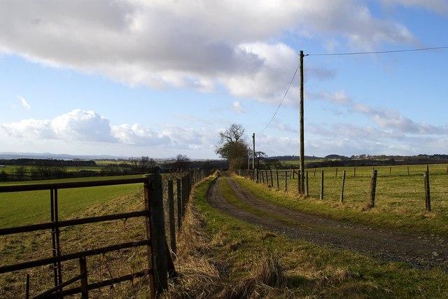 Farm road, Bonnyton