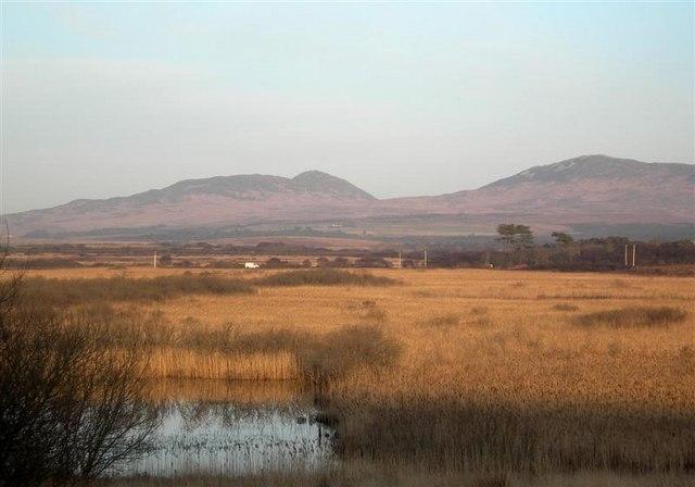 Setting Sun At Loch Tallant Marsh