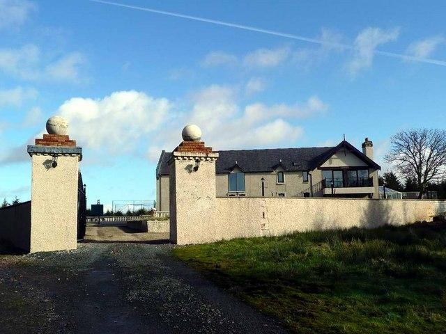 Craigendunton from the south-west