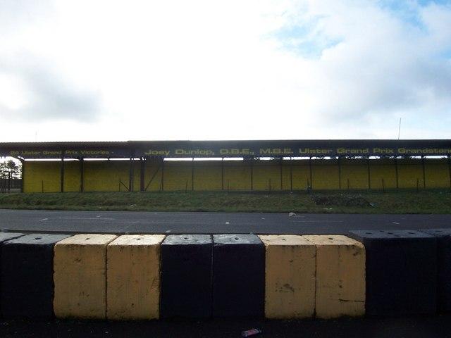 The Joey Dunlop Grandstand