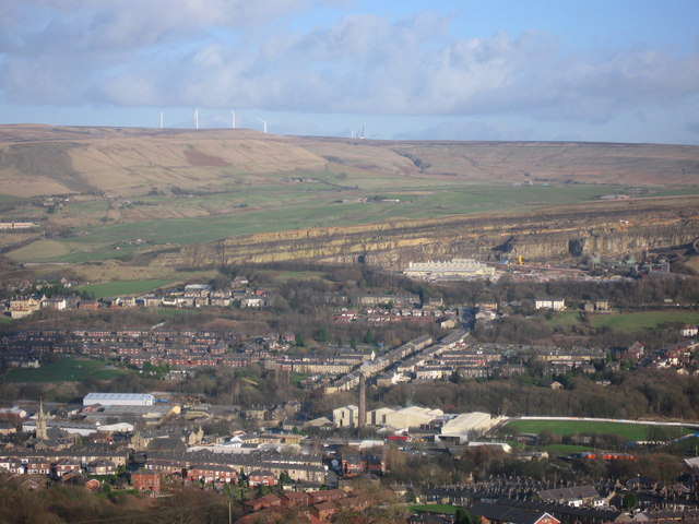 Ramsbottom and Scout Moor Wind Farm