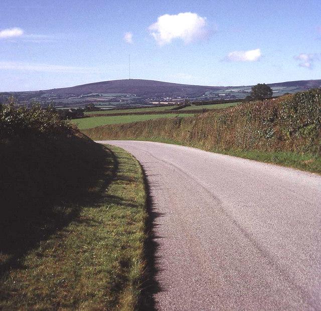 Lane near Kersbrook Cross