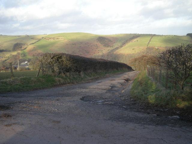 Drive to Stone House Farm