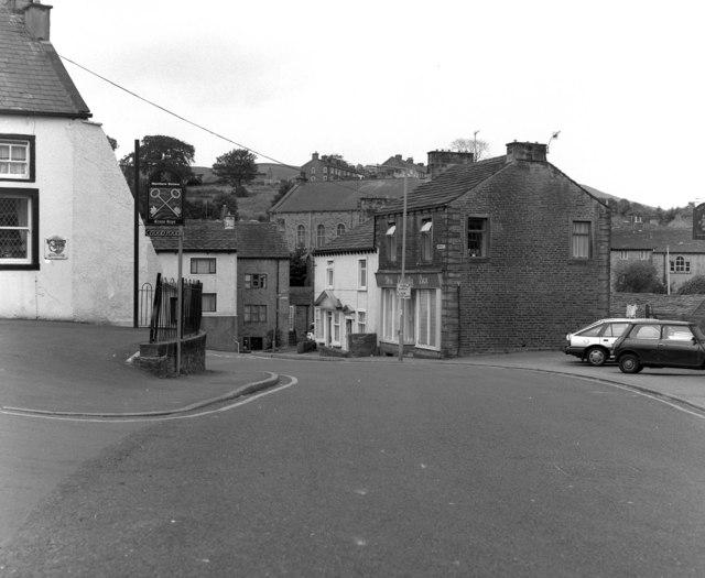 Top of Church Street, Barnoldswick