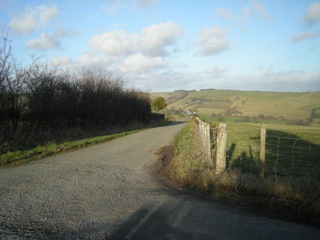 Lane to Brynmawr