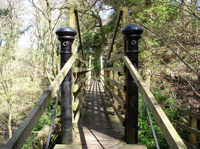 Heronsford Trail Footbridge