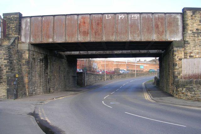 Railway Bridge over Station Lane