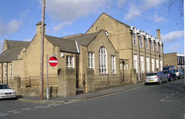 Back of Heckmondwike Grammar School - Church Street