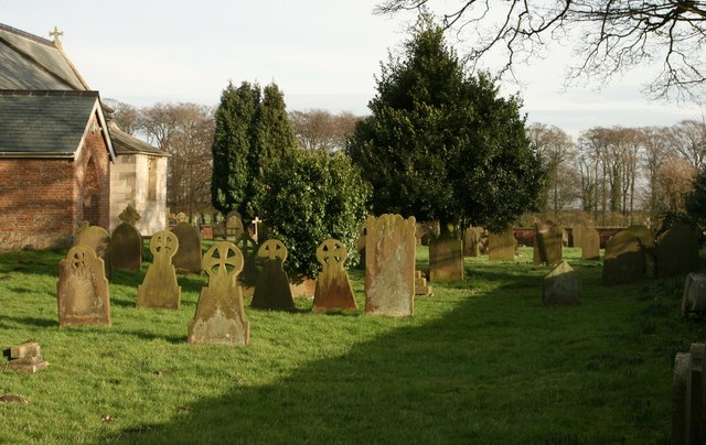 St Peter's Churchyard, Rowley