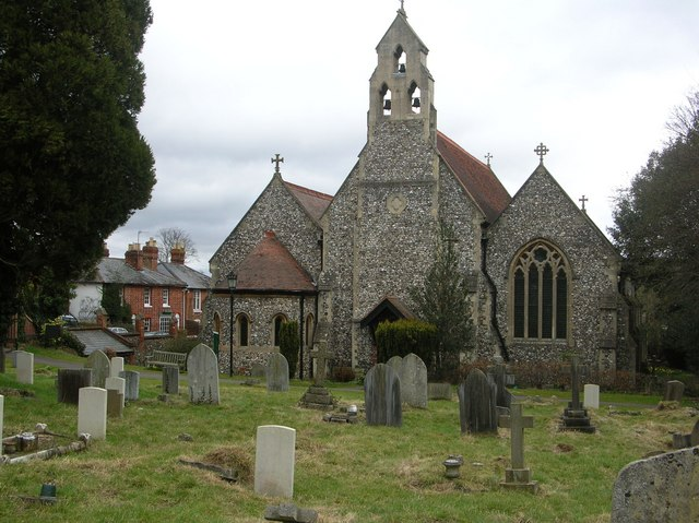 Trinity Church and graveyard, Henley