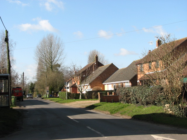 View west along Bell Lane