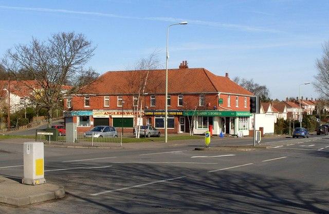 Row of Shops, Long John Hill