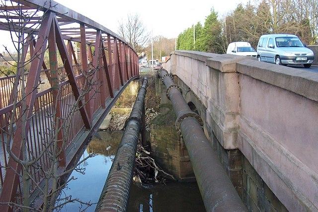 Service Mains at Swillington Bridge