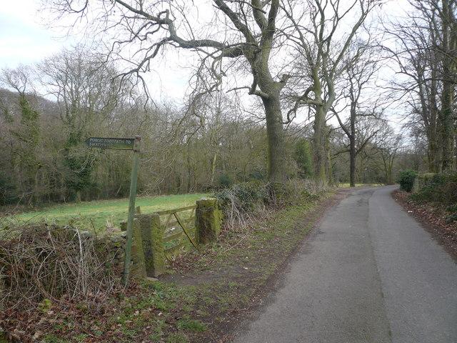 Malthouse Lane View near Stubbing  Court