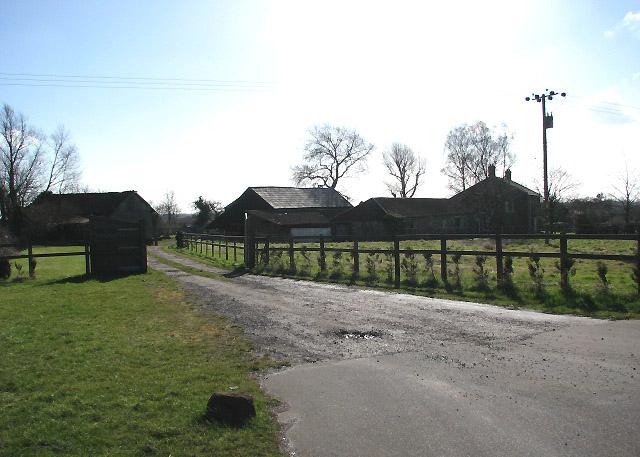 Entrance to Barton House