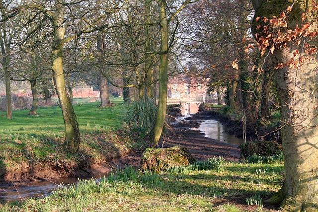 Stream, Birtsmorton Court