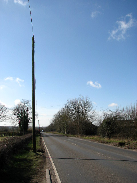View SW along Dereham Road (A1075)