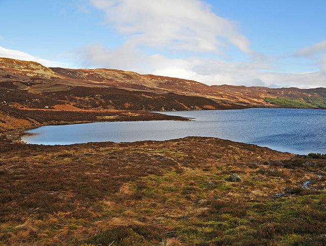 Western end of Loch Boltachan