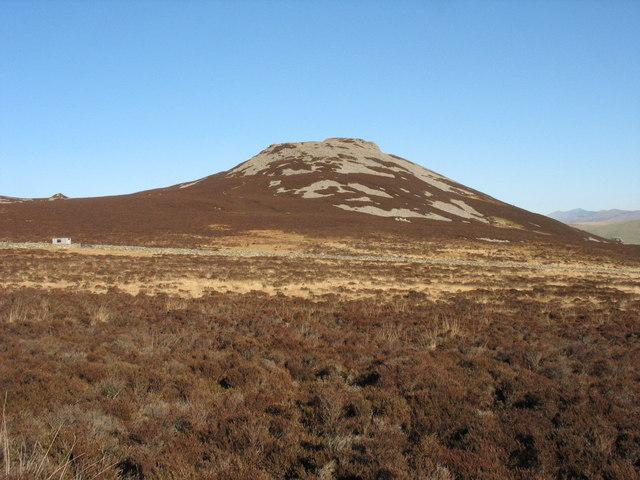Wet moorland platform west of Tre'r Ceiri