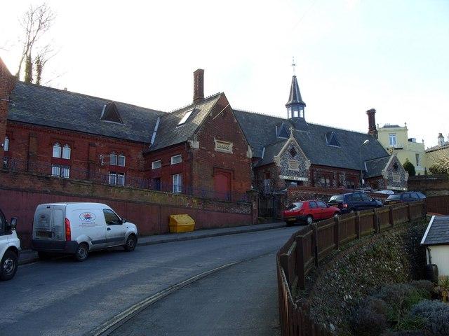 Former Carrow School, Carrow Hill