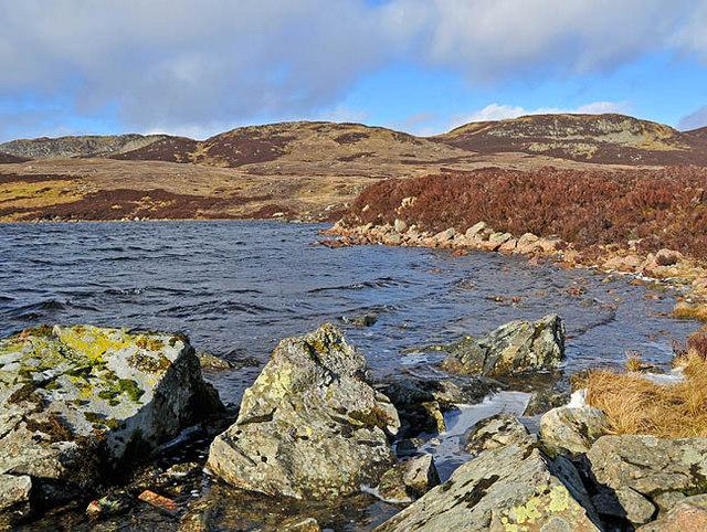 Eastern shore of Loch Boltachan