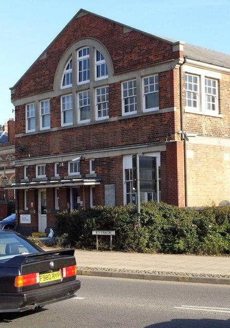 Original Norwich Railway Station