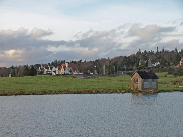 Fishermans Hut, Knapps Loch