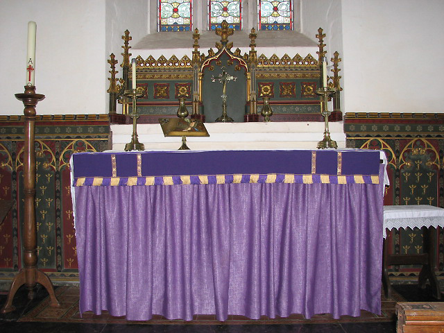 The church of St John the Evangelist - sanctuary
