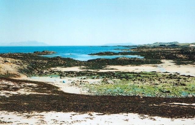 Shore north-east of Cliad Bay, Coll