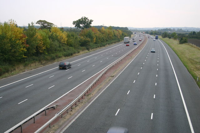 Looking South on M40