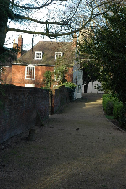 Buildings around the Commandery, Worcester