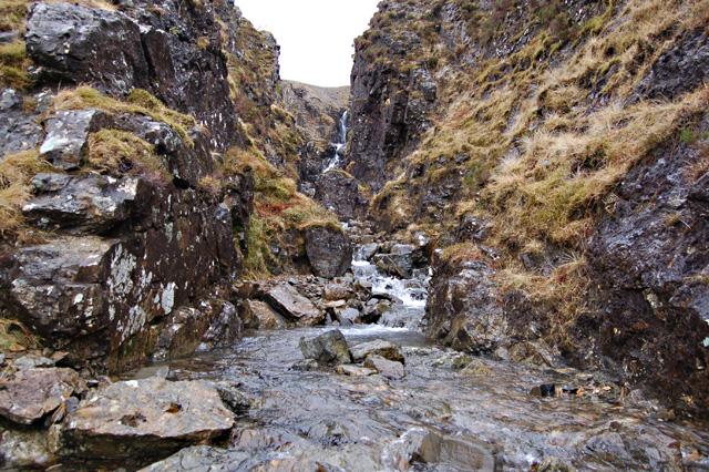 Gorge of the Allt Mor an Fhinn Choire