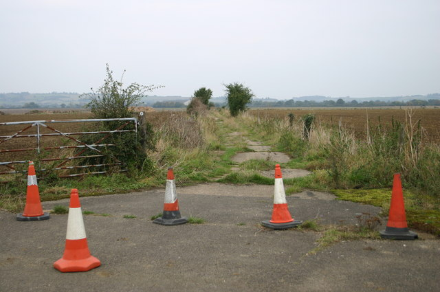 Footpath across the old airfield
