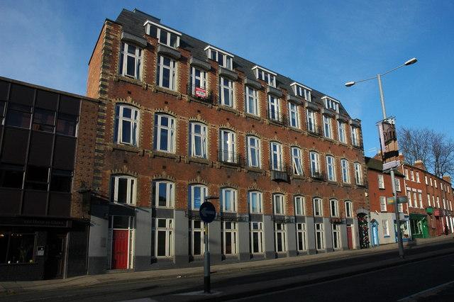 Former factory, College Street, Worcester