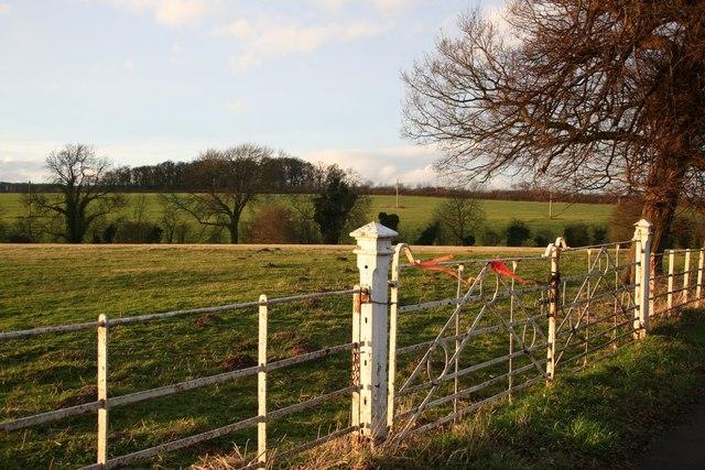 Manthorpe farmland