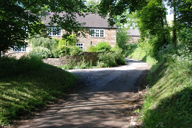 Houses in Mill Lane, Millthorpe, Derbyshire
