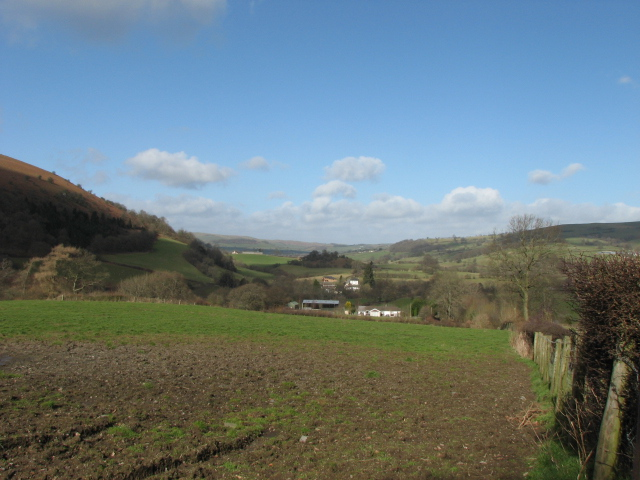 Edw Valley, looking north towards Cregina