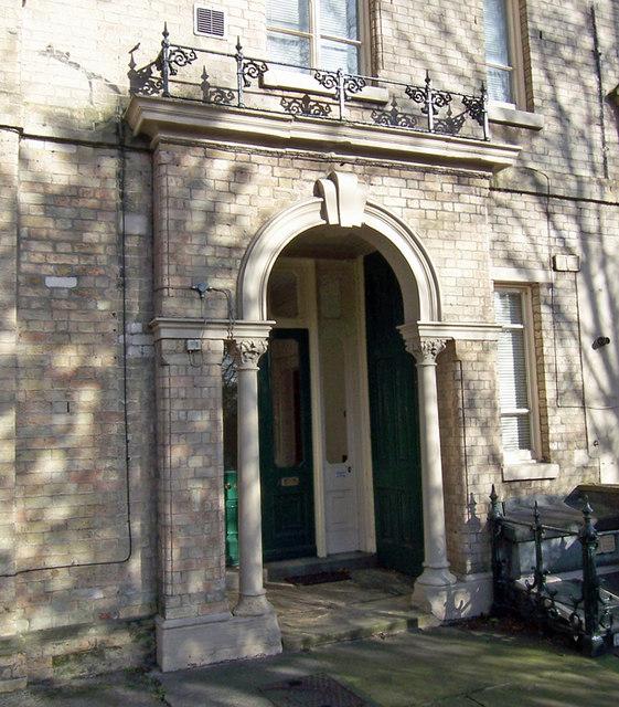 Doorway - Dykes House, Hessle