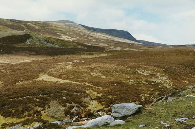 Hillside west of the Allt a' Chaorainn