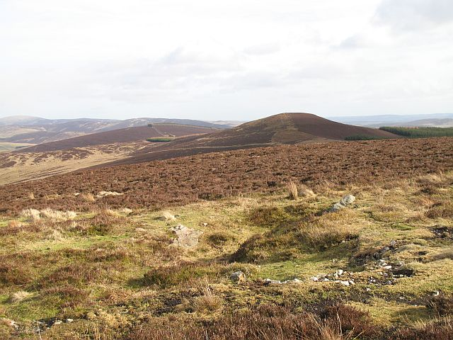 Moorland south of Cairn Gibbs
