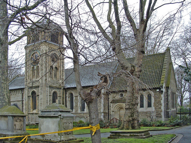 St Pancras Old Church, Pancras Road, London