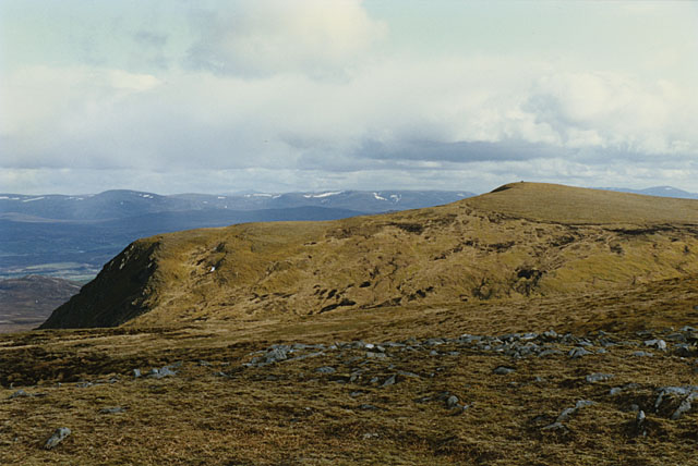View south from Carn Sgulain