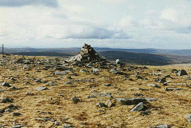 Summit cairn of Carn Sgulain