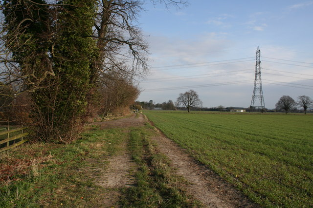 Looking back towards Cholsey