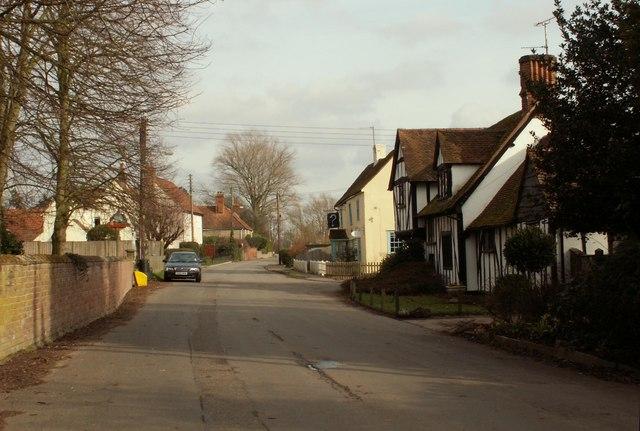 The village of Easthorpe