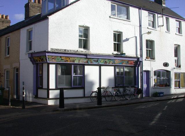 Former baker's shop, Kingston Street