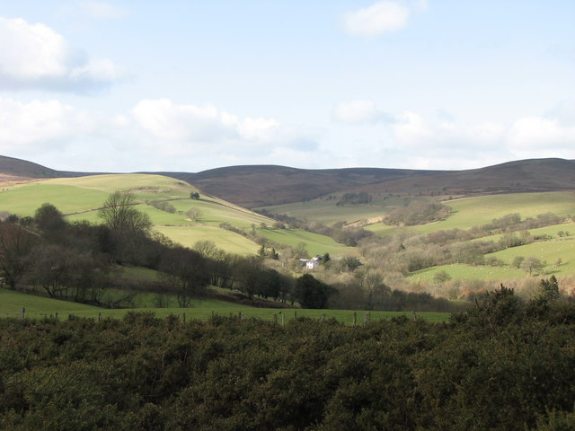 Radnorshire hill country